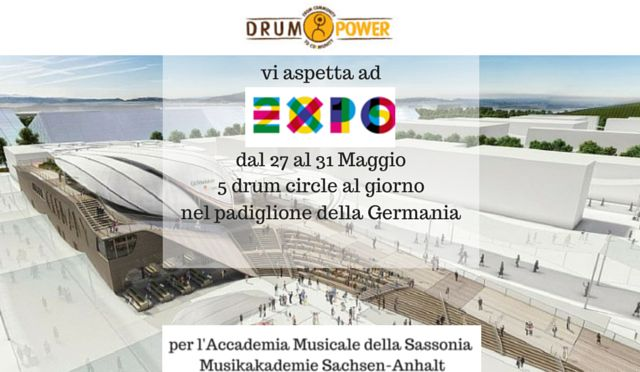 Drum Power all'Expo 2015