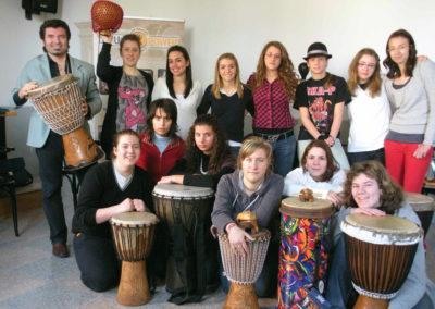 Drum circle scuola 2
